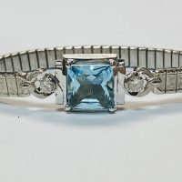 Vintage watch turned into bracelet